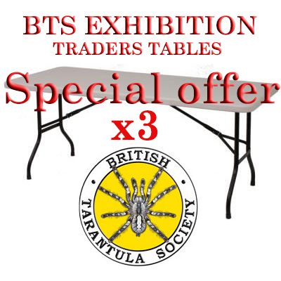 BTS Exhibition Trading  3 Table Special Offer