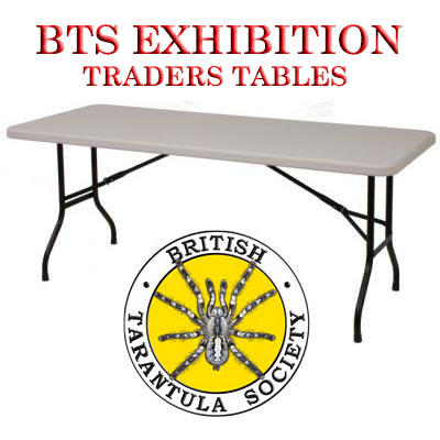 BTS Exhibition Trading Tables